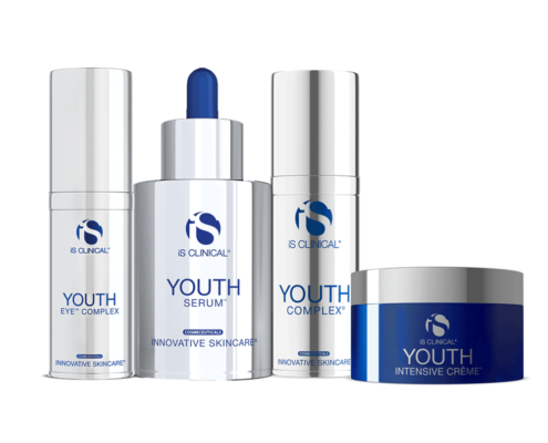 Youth - iS CLINICAL Youth Eye Complex, Youth Serum, Youth Complex Youth Intensive Créme.